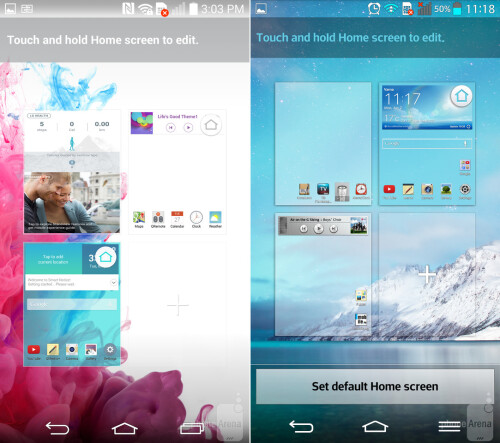 Home Screen Overview