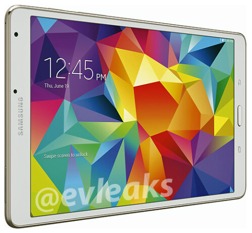 At 6.5 mm thickness, the unreleased Samsung Galaxy Tab S 8.4 is one super-slim tablet