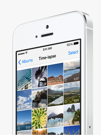 iOS camera app gets new Time-Lapse video option in iOS 8