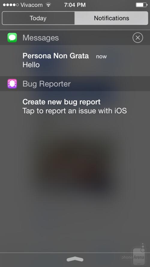 Message notifications