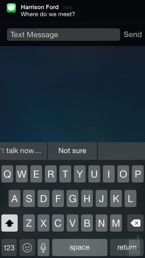 Quick message replies