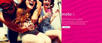 Save $100 today and tomorrow on the Motorola Moto X