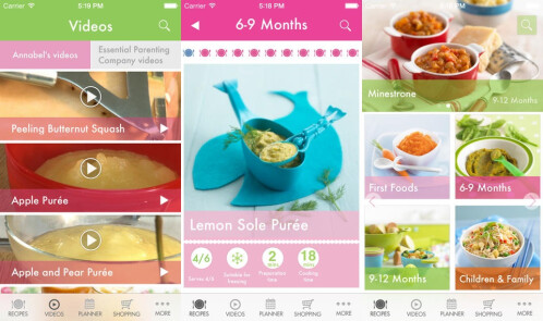 Annabel's Essential Guide To Feeding Your Baby & Toddler - iOS - $5.99