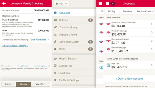 Bank of America - Android, iOS - Free
