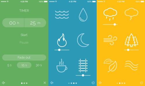 Noisli - iOS - $1.99