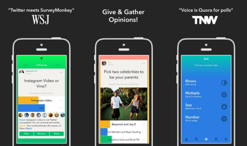 Voice - Give and gather opinions - iOS - Free