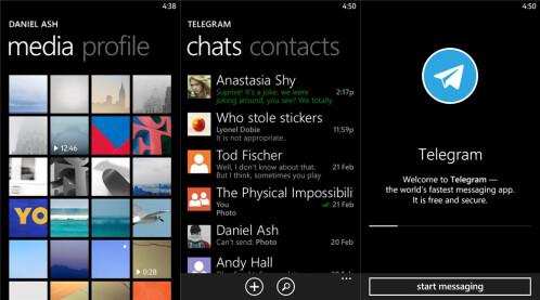 Telegram - Windows Phone - Free