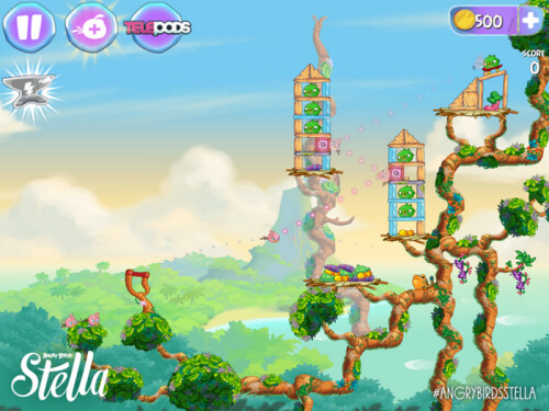 Angry Birds Stella, coming this fall