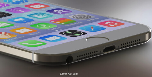 New iPhone 6 (with iOS 8) concept