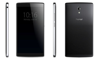 Images of the Huawei 'Mulan' leak out, reveal a stylish body