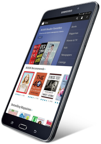 Samsung announces Galaxy Tab 4 Nook tablets, the first one should be launched in August