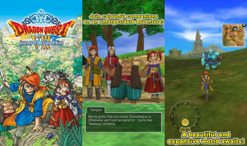 Dragon Quest VIII - Android, iOS - $19.99