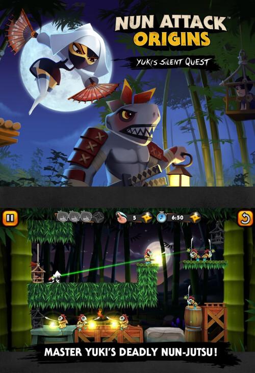 Nun Attack Origins: Yuki's Silent Quest - Android - $1.49
