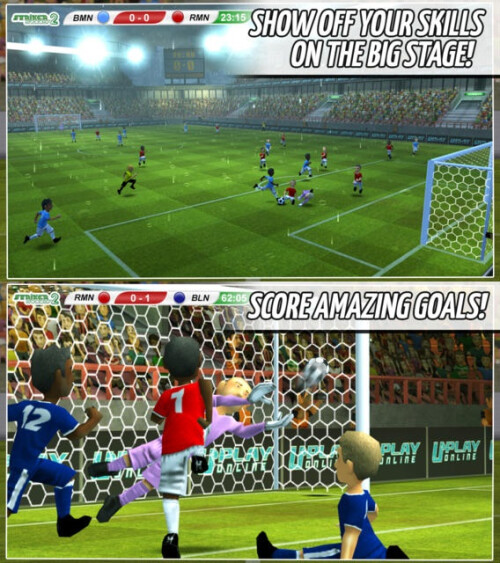 Striker Soccer 2 - Android, iOS - Free (IAP)