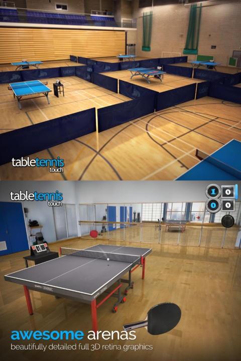 Table Tennis Touch - iOS - $3.99 (mild IAP)