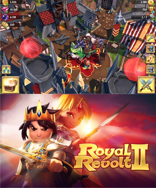 Royal Revolt 2 - Windows Phone - Free