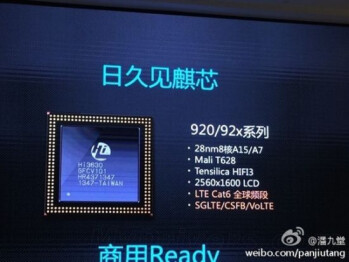 Huawei's Kirin 920 octa-core platform goes official - is this the Snapdragon 805's Chinese nemesis?