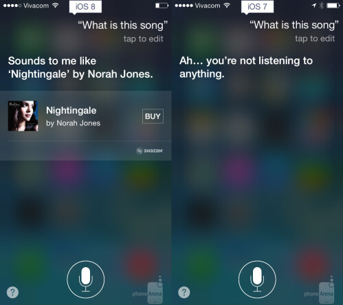 Siri meets Shazam