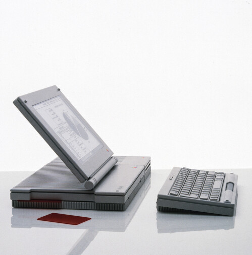 A prototype of a full-fledged Mac with a detached keyboard