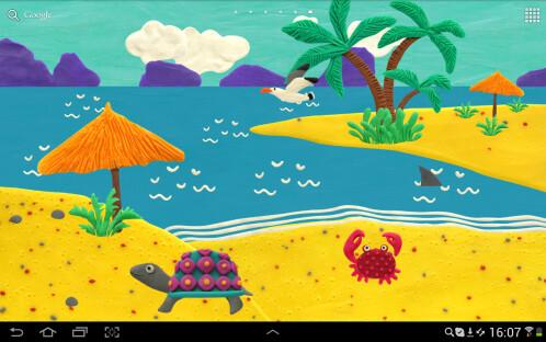 KM Beach Live wallpaper Free