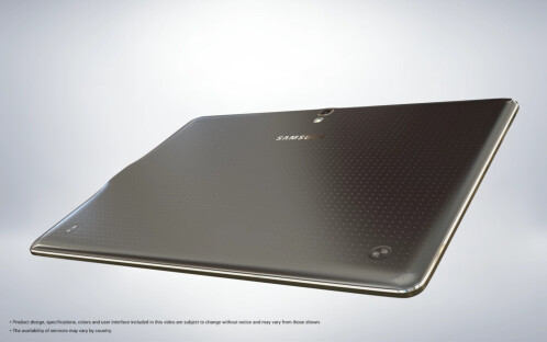 New Samsung Galaxy Tab S 10.5 images show how thin the tablet is, reveal extra features
