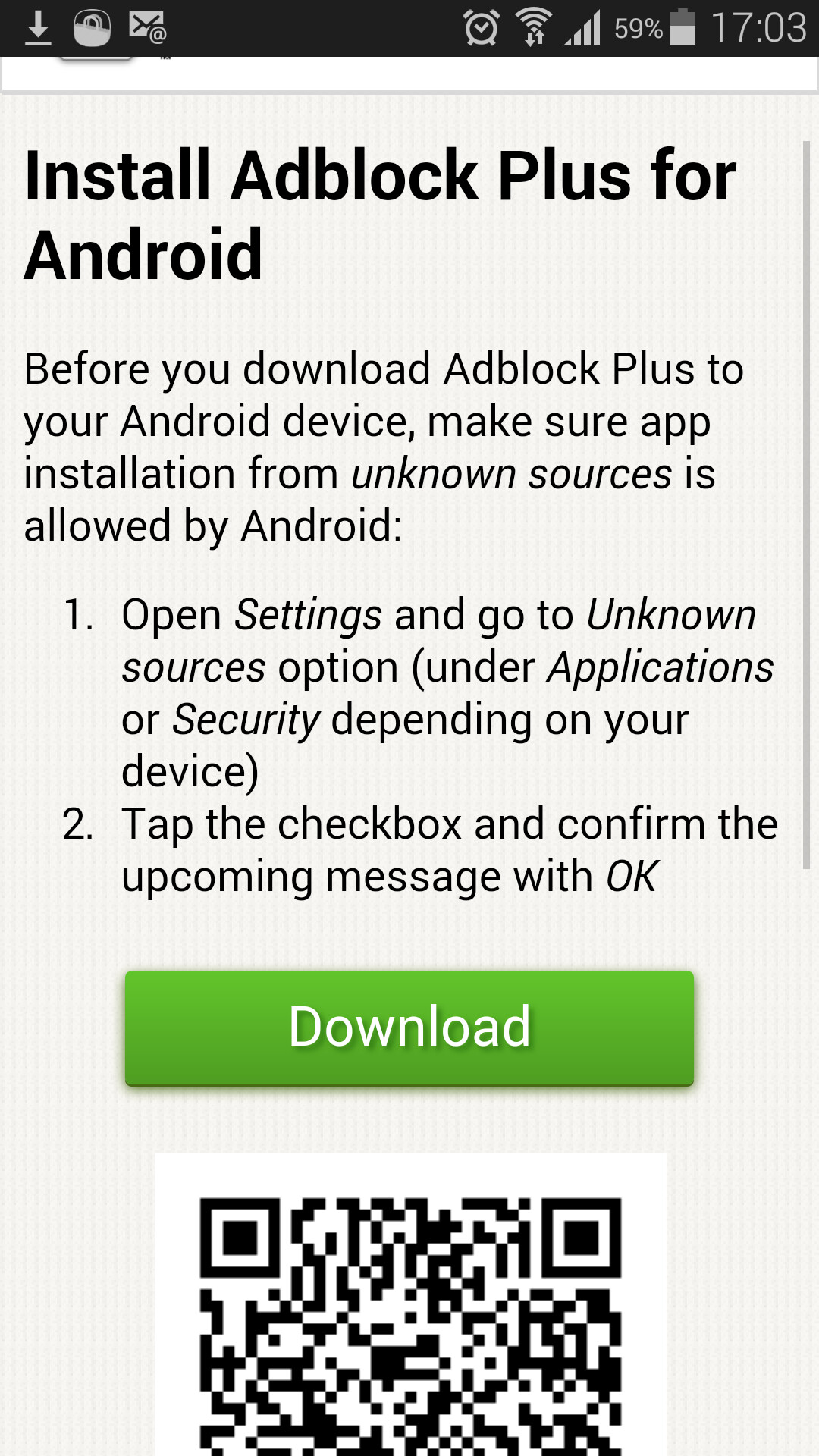 How to block app and browser ads on the Galaxy S5 without root