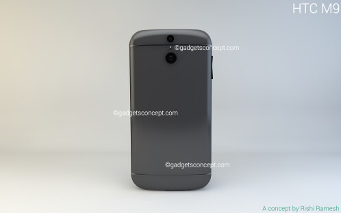 HTC One M9 concept by Rishi Ramesh