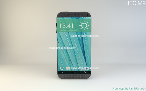 HTC One M9 concept by Rishi Ramesh