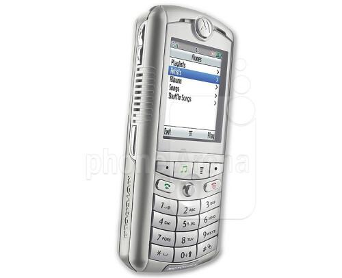 Motorola ROKR E1 with iTunes