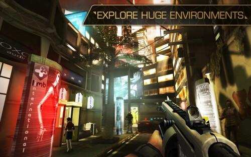 Deus Ex The Fall screenshots