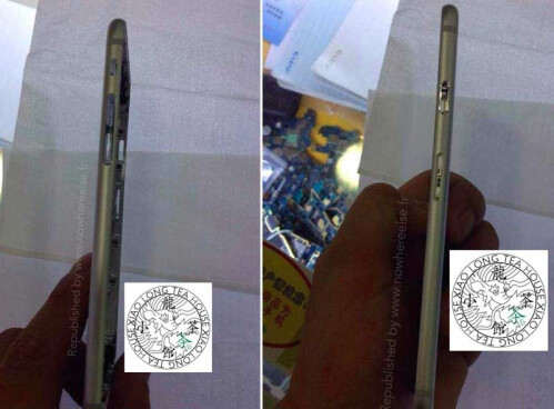 Alleged iPhone 6 shell