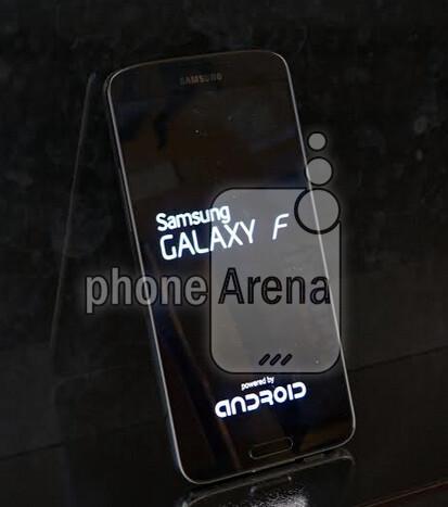 Pictures of the premium Samsung Galaxy F leak