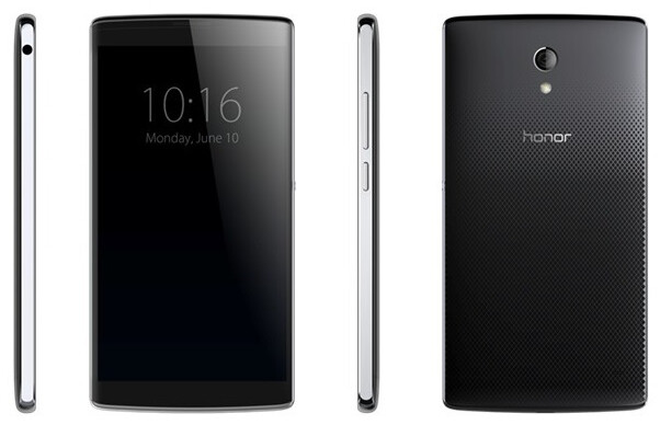 Leaked image of the Huawei Honor 6, to be unveiled on June 24th - Huawei Honor 6, aka Mulan, to get gala unveiling on June 24th at Beijing National Stadium
