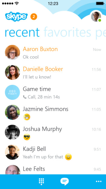 "The ""biggest change ever to Skype for iPhone"" coming this month with version 5.0"