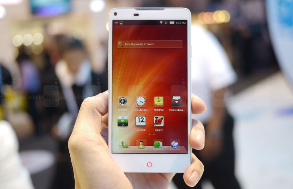ZTE hopes that its high-end smartphones will rival Apple and Samsung when it comes to brand awareness