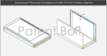 Tri-foldable display patent