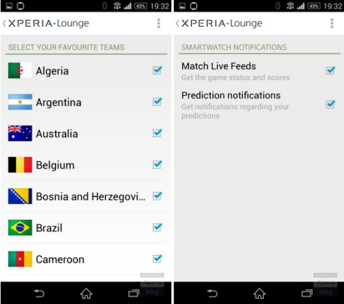 Sony Xperia Z2 is the official smartphone of the 2014 World Cup