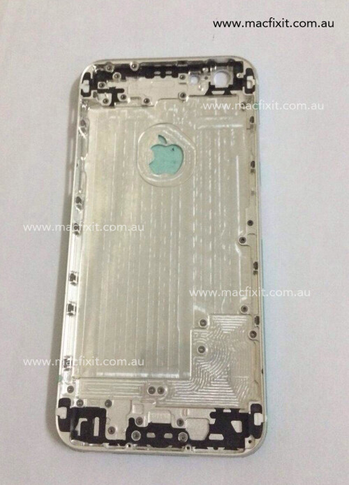 Another set of images from China shows the alleged shell of the iPhone 6