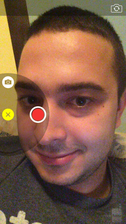 Video message in iOS 8