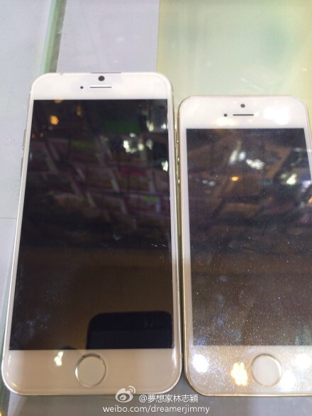 A collection of dummy 4.7'' and 5.5'' iPhone 6 images