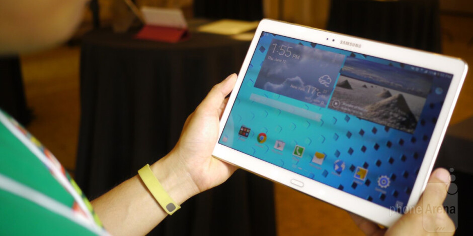 Samsung Galaxy Tab S 10.5 hands-on