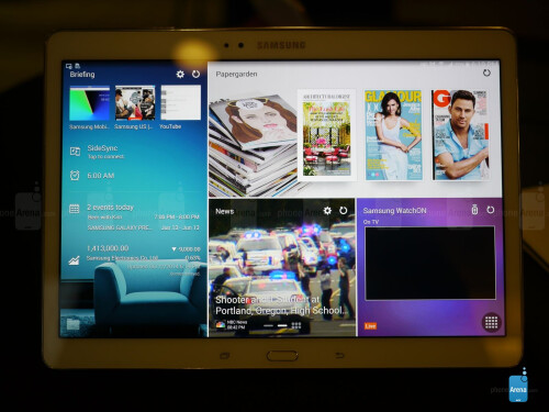 Samsung Galaxy Tab S 10.5 screenshots