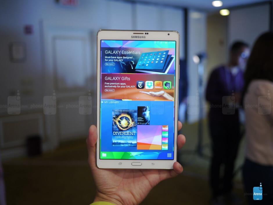 Samsung Galaxy Tab S 8.4 hands-on