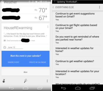 Google Now will soon be sending you cards with reminders about your upcoming events