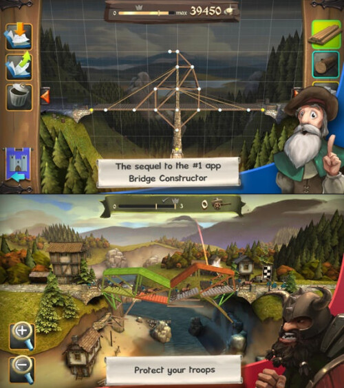 Bridge Constructor Medieval - Android, iOS - $1.29