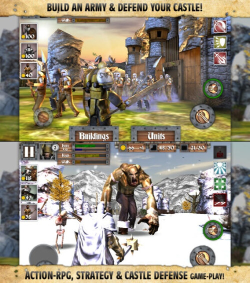 Heroes and Castles - Android, iOS - $1.99/$2.99