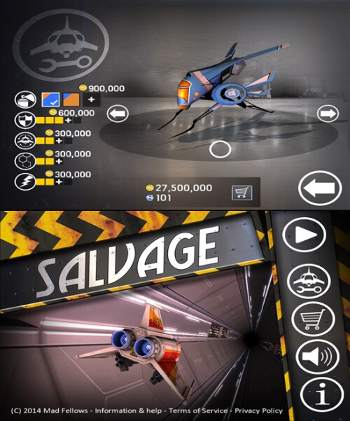Salvage - Windows Phone - Free