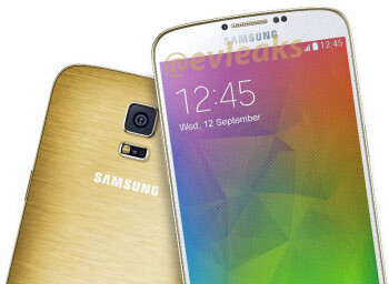 Golden Samsung Galaxy F (S5 Prime) shows up
