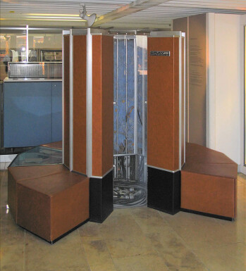 The Cray-1 supercomputer ran at 80MHz