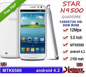 The Star N9500 is said to come out of the box with malware - Android phone built in China comes equipped with malware